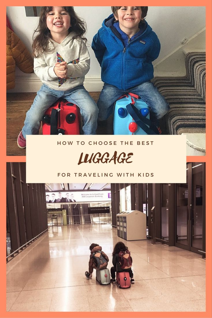 What is the best luggage for traveling with kids? Backpacks, wheelie bags? And what about ride on luggage for toddlers, is it any good? Find out in our ultimate guide to the best luggage for family travel all you need to know about the practical side of traveling with kids!