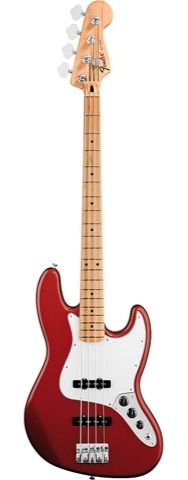 Bass.  More info about the image on http://www.musik-produktiv.co.uk/fender-mex-standard-jazzbass-mn-candy-apple-red.html  This image was saved from Bout app. You can download the app from www.getbout.com