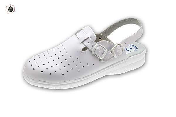 klumpa 06AB fehér, méret:35-41, ISO20347 OB (csak kereskedőknek,előrendelésre kapható)