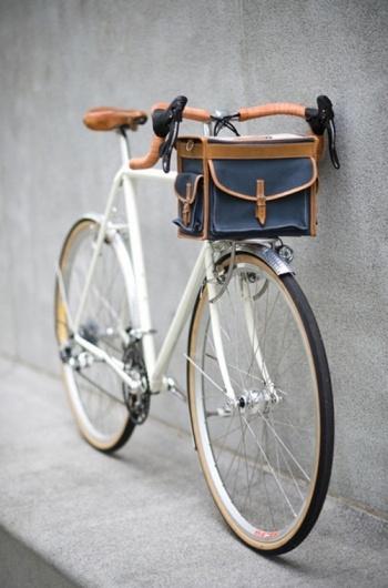 Grown up bicycle basket.