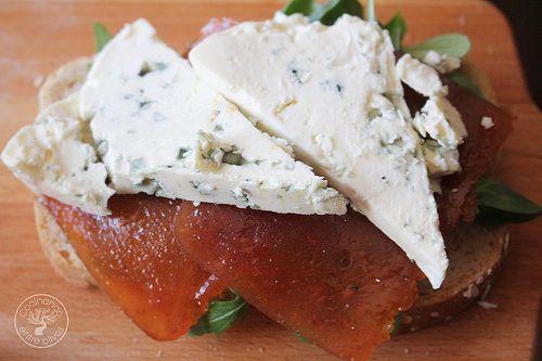 Sándwich membrillo y queso azul www.cocinandoentreolivos.com (7)