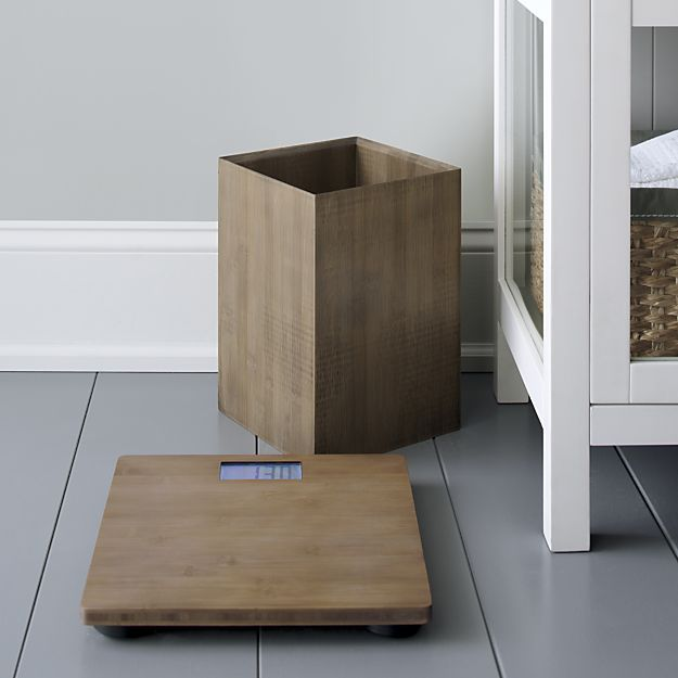 Dixon Bamboo Bathroom Scale   Crate and Barrel. 1000  ideas about Bamboo Bathroom on Pinterest   Home estimate