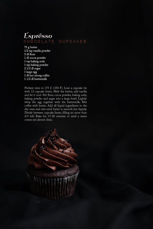 Call me cupcake!: Perfect espresso chocolate cupcakes
