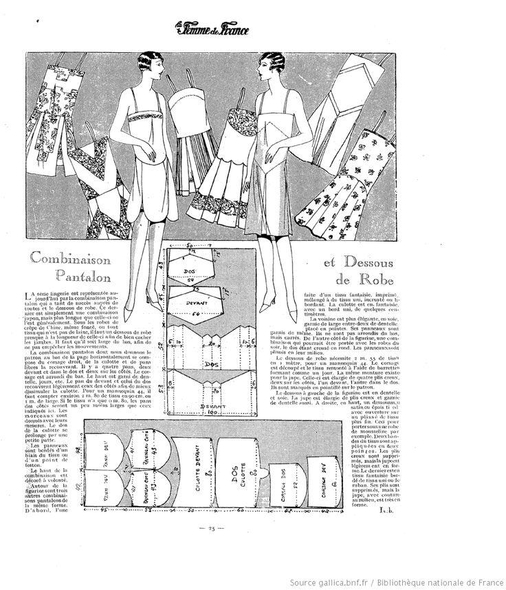 Lingerie (La Femme de France 02/09/1928)
