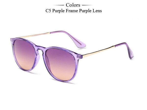 Brand Fashion New Round Sunglasses Women Vintage Cat Eye Shades Summer Ocean Sunglasses Men Gafas oculos de sol Feminino MA097
