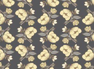 Pattern Vanilla flowers