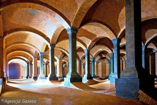 """Underground """"Water Cathedral"""""""