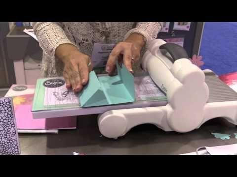 Stephanie Bernard - Half Card Creations by Sizzix - CHA Winter 2016 Video