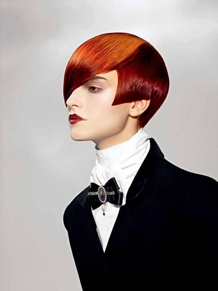 276 Best Sassoon Images On Pinterest Short Hairstyle