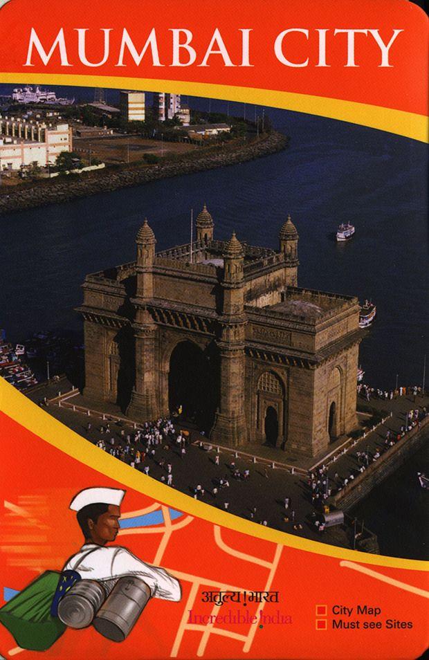 https://flic.kr/p/G2YzQH | Mumbai City Map, Must see Sites; 2015_1 map, Maharashtra state, India | tourism travel brochure | by worldtravellib World Travel library