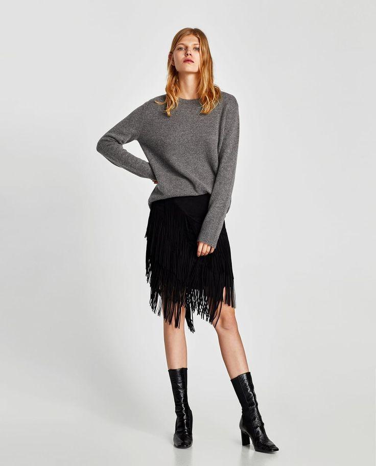 Fabulous fringe skirt from Zara 2017