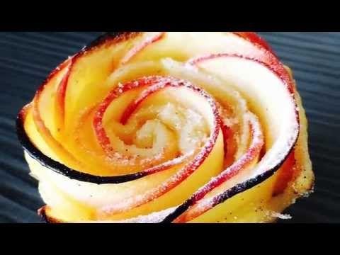 Roses Feuilletées aux Pommes : La Recette Facile ! - YouTube