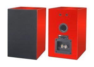 Pro-Ject-Speaker-Box-5-Regallautsprecher-Hochglanz-Rot-1-Paar-NEU-OVP
