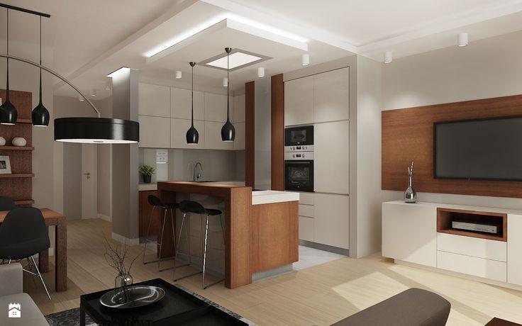 Kuchnia styl nowoczesny zdj cie od all design agnieszka for Decoration epuree definition