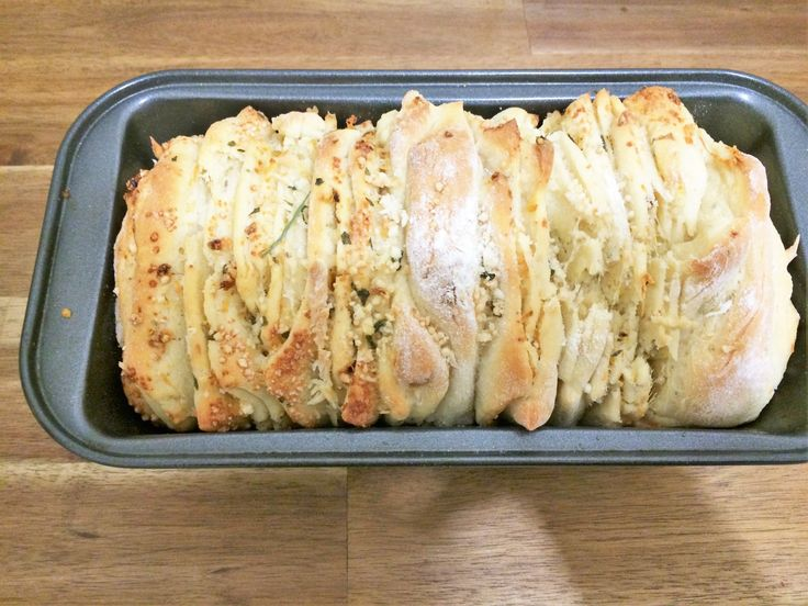 Garlic and Parmesan pull apart bread - Powered by @ultimaterecipe