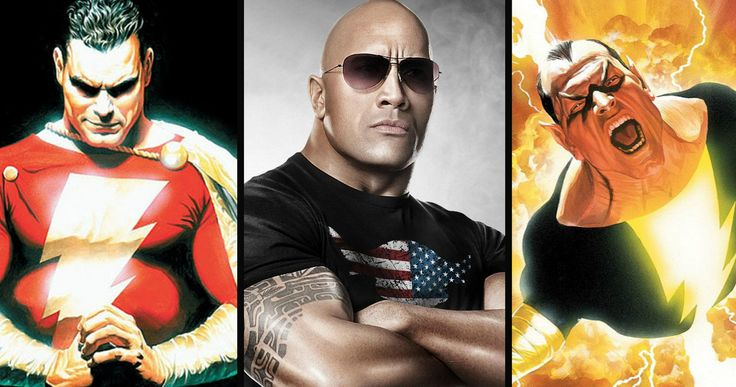 'Shazam': Dwayne Johnson Gives Lead Casting Update -- Dwayne Johnson says that his Black Adam character in 'Shazam' is an anti-hero, although he doesn't know who will play the title character. -- http://www.movieweb.com/shazam-movie-casting-dwayne-johnson