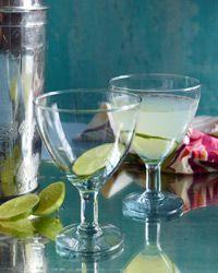 Classic Daiquiri 1/2 ounces white rum 1 1/2 ounces fresh lime juice 4 ...