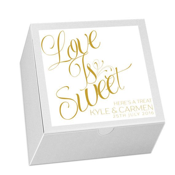 25 Cake To Go Boxes Wedding Favors Mr. and Mrs. by LoveMrandMrs