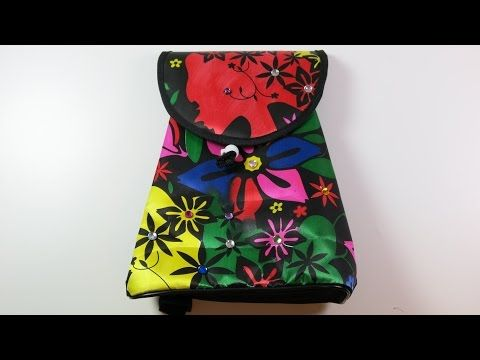 Fashion Tote, DIY, How to Color your Back Pack