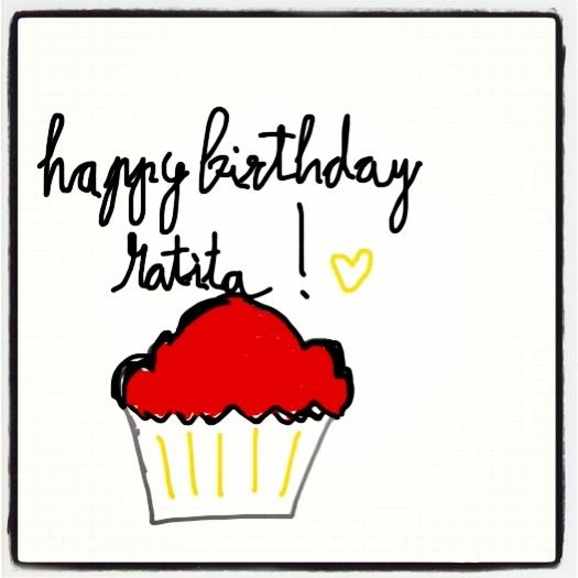 Happy birthday ratita