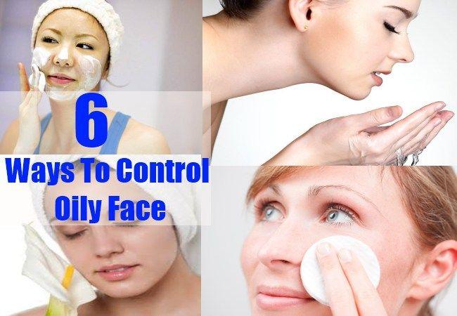 Ways To Control Oily Face
