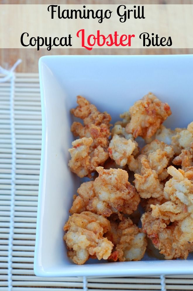 Have you ever eaten lightly fried lobster bites?  This is my very favorite seafood!  They are crunchy tender, light, rich and delicious!  And these lobster bites are easy to make!  No one can eat just one!