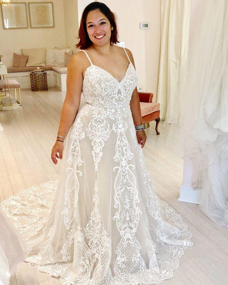 Beautiful Bride ashley stewart plus size wedding dresses 2