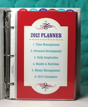 planner for 2012.