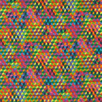 Robert Kaufman Fabrics: SRK-15246-195 BRIGHT from Vivid
