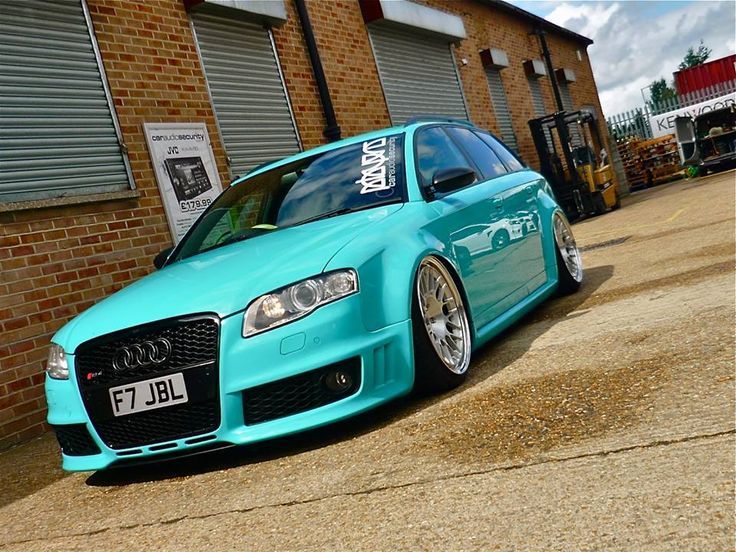 Omg and it's my color!! Audi A4 B7 Avant - Low