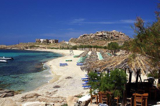 Paradise Beach - Mykonos, Greece