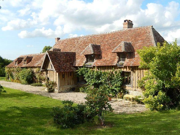 Chaumière de charme avec piscine - Maisons à louer à Tourgéville