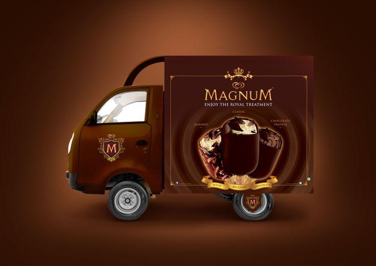 Magnum Vehicle Branding