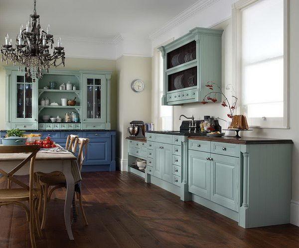 Кухня в стиле ретро - вдохновение и творчество :: Фото красивых интерьеров