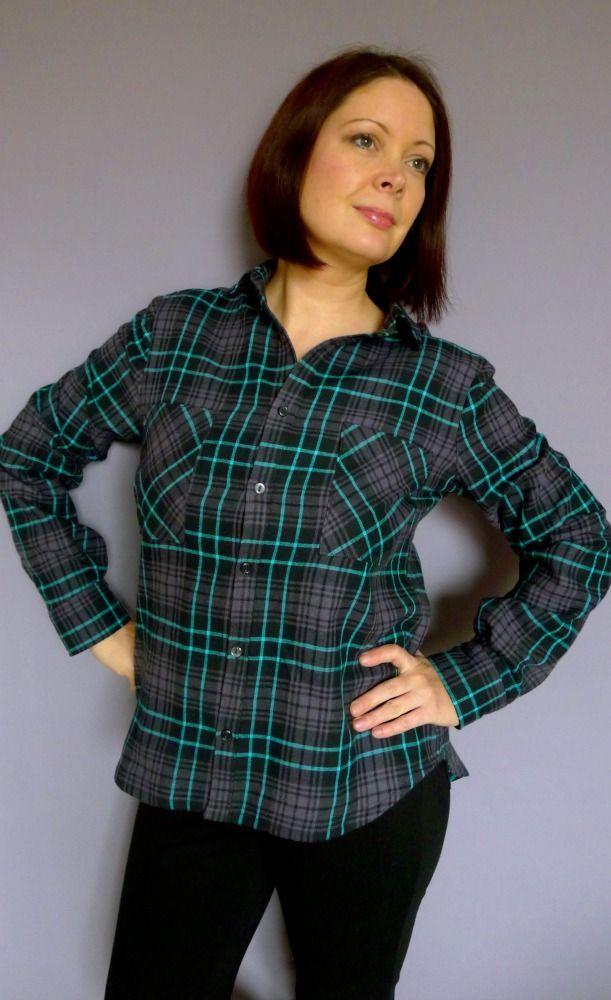 Grainline Archer Shirt Front