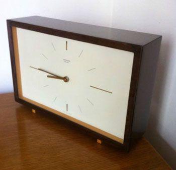 1960's Junghans Ato-Mat mangle clock {via retro to go}: Ears To Mid 1960S, 1960S Clocks, 1960S Rooms, 1960S Junghan, Mangl Clocks, Draper 1960S, Retro Mantles Clocks, Age 1960S