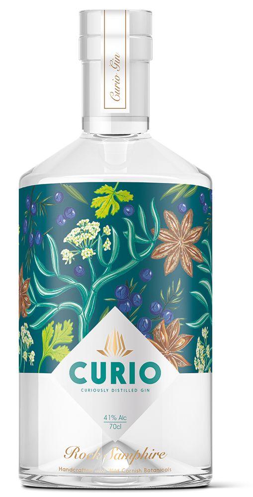 Curio Rock Samphire Gin - Ginebra PD