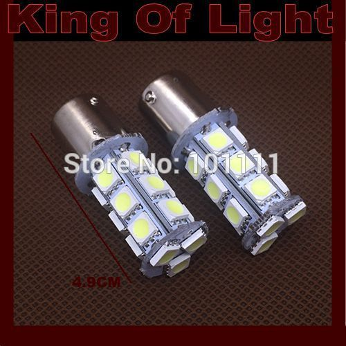 $81.18 (Buy here: https://alitems.com/g/1e8d114494ebda23ff8b16525dc3e8/?i=5&ulp=https%3A%2F%2Fwww.aliexpress.com%2Fitem%2F100x-car-led-P21w-s25-ba15s-18smd-1156-18-leds-smd-5050-turn-signals-light-bulb%2F32656484801.html ) 100x car led P21w s25 ba15s 18smd 1156 18 leds smd 5050 turn signals light bulb lamp white yellow Free shipping for just $81.18