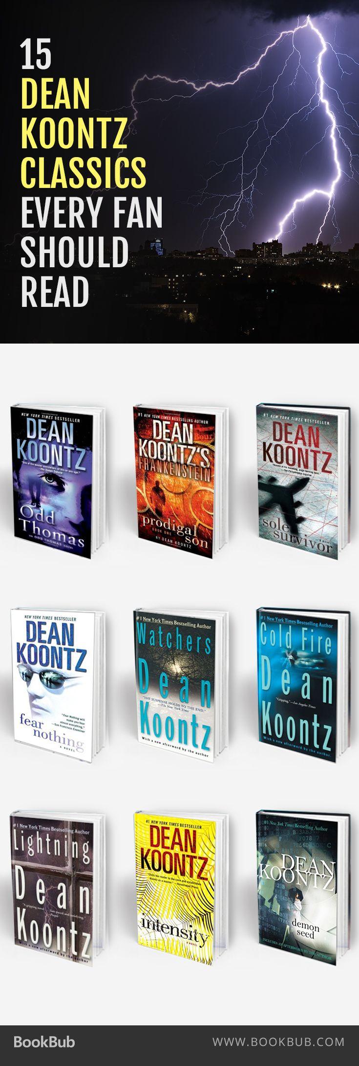 15 Dean Koontz Classics To Get You In The Halloween Spirit