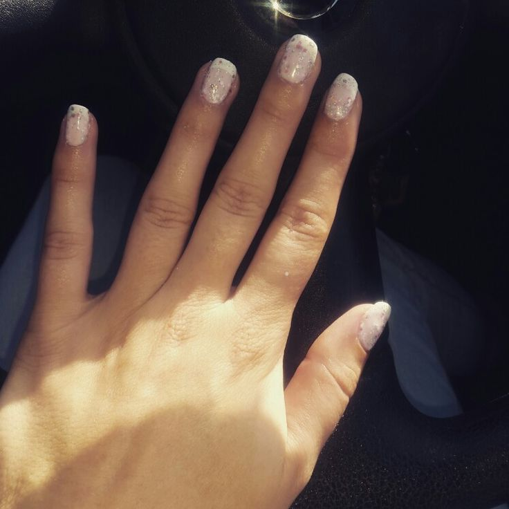 French carnival manicure
