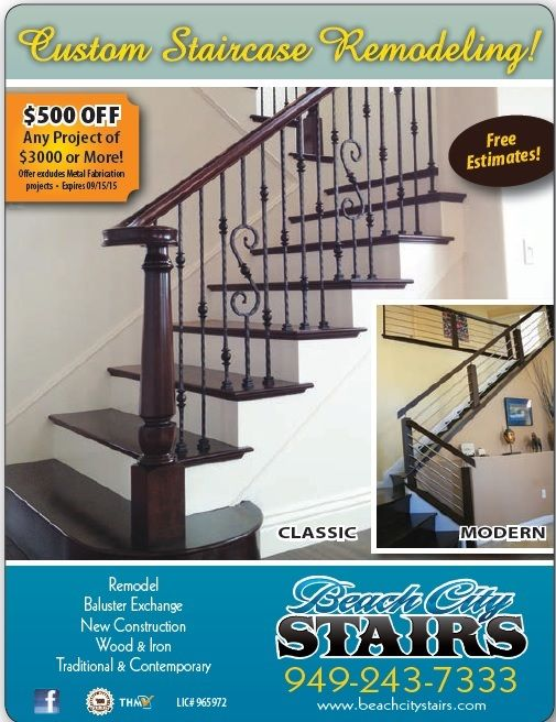Exceptional Beach City Stairs Quality U0026 Licensed Custom Carpentry, Custom Staircase  Remodel You Found Them At TheHomeMag