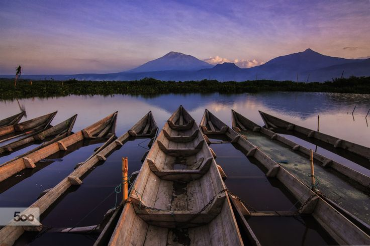 Photograph Sunset in Rawa Pening by Franciscus Satriya Wicaksana on 500px