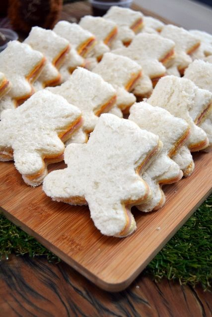 Teddy Bear Sandwiches                                                                                                                                                                                 More