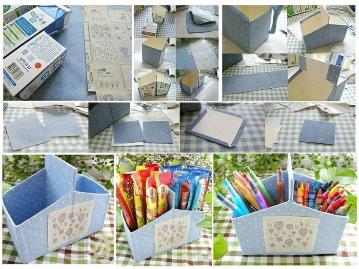 Reciclaje con carton
