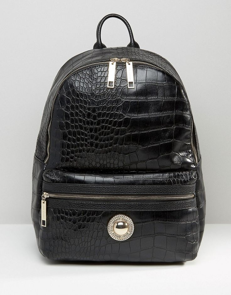 Image 1 of Versace Jeans Large Croc Backpack