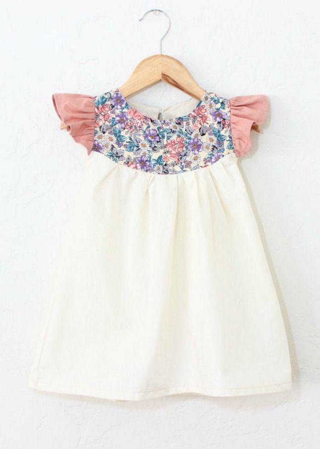 Ruffle Sleeve Cotton & Linen Dress   TajandMe on Etsy
