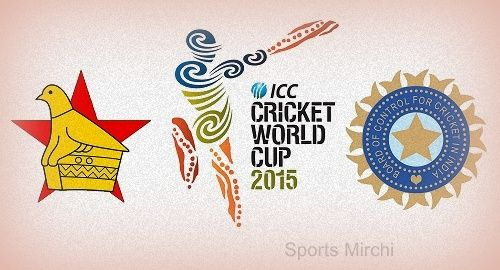 Watch India vs Zimbabwe live cricket world cup 2015 match streaming and telecast on star sports and DD National. Get IND vs ZIM preview, tv info, score here.