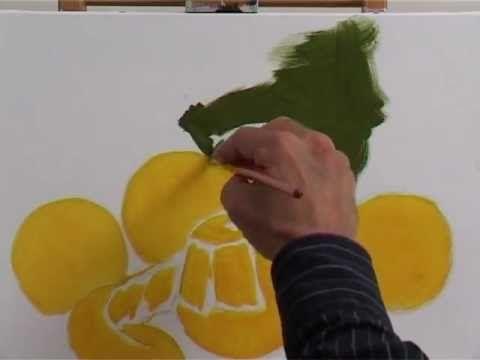 Peinture à lhuile fruits à létude youtube
