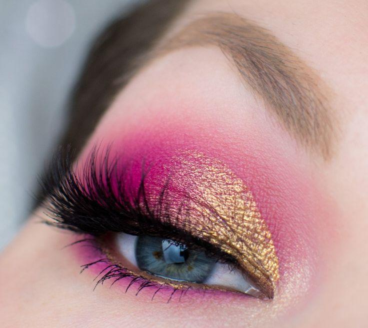 Lidschatten 1×1 – Pink & Gold