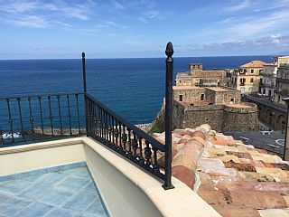 Newly renovated in centro storico of Pizzo overlooking the Sea, Beach and Castle Vacation Rental in Vibo Valentia from @homeaway! #vacation #rental #travel  #airbnb #tripadvisor
